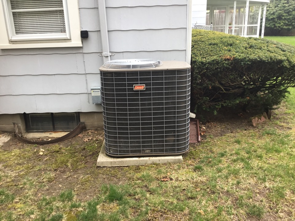 Ronkonkoma, NY - Performed a spring start up on a Coleman split system in the town of Ronkonkoma
