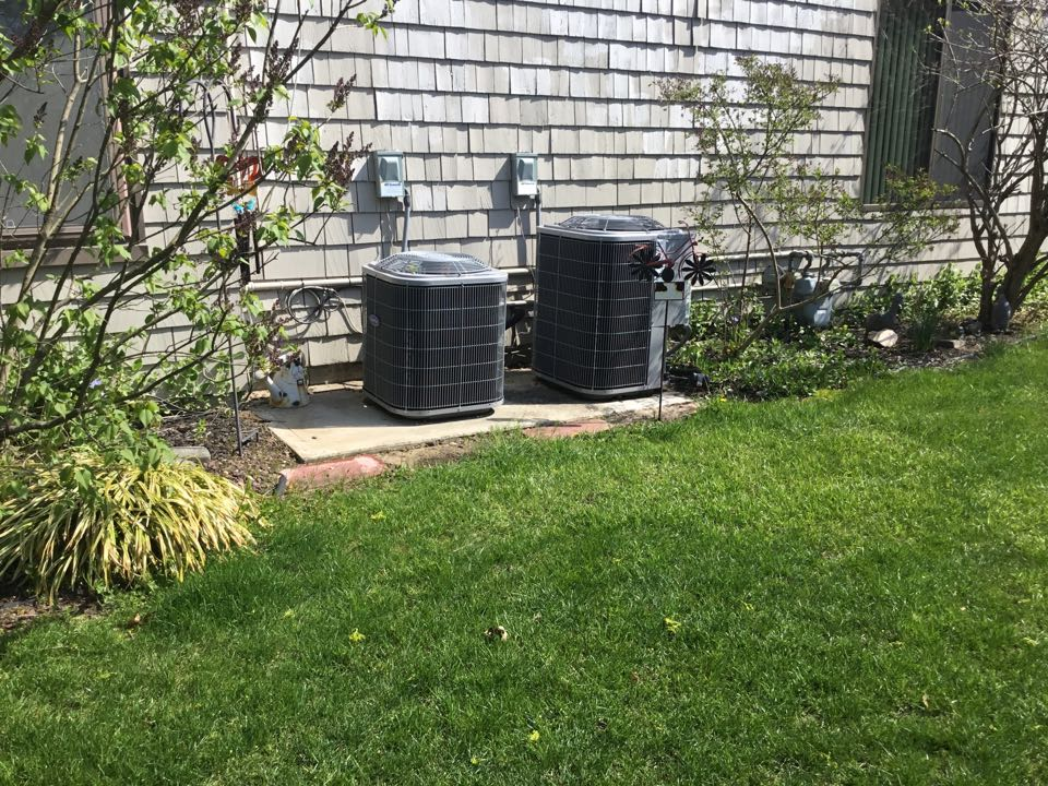East Islip, NY - Performed a spring inspection on to carry a split systems in the town of Islip