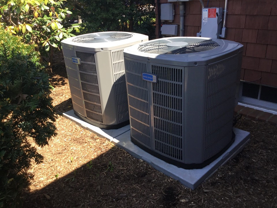 Riverhead, NY - Performed a spring start up on 2 American standard and 1 FuJitsu split system in a town of Riverhead