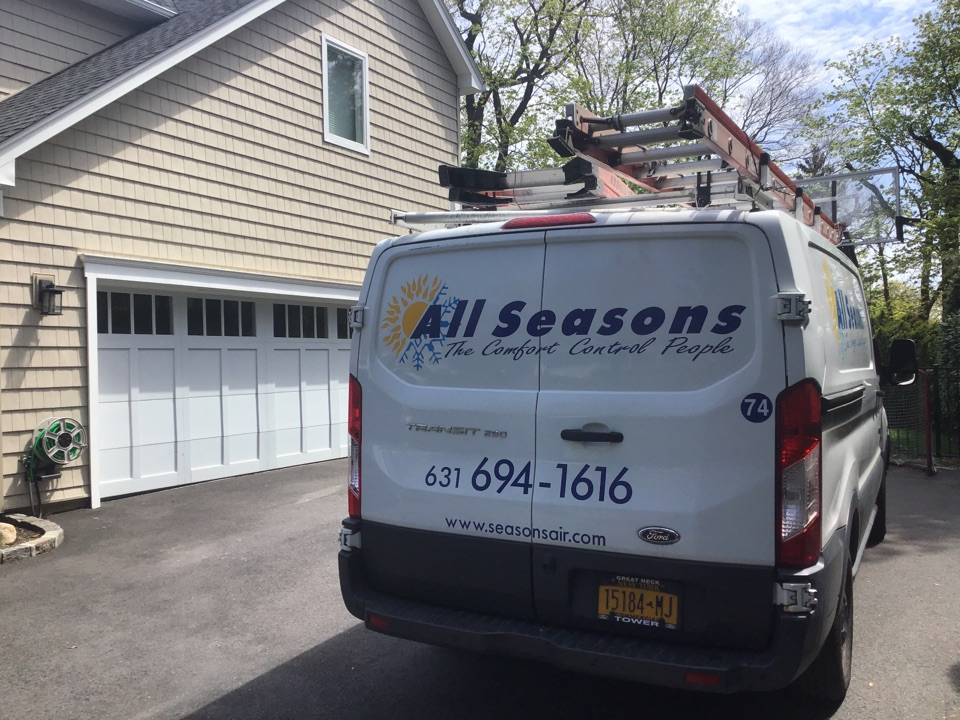 Roslyn, NY - Air conditioning inspection