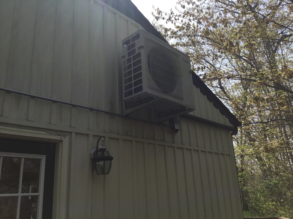 Huntington, NY - Performed an inspection on a Mitsubishi split system in the town of Huntington