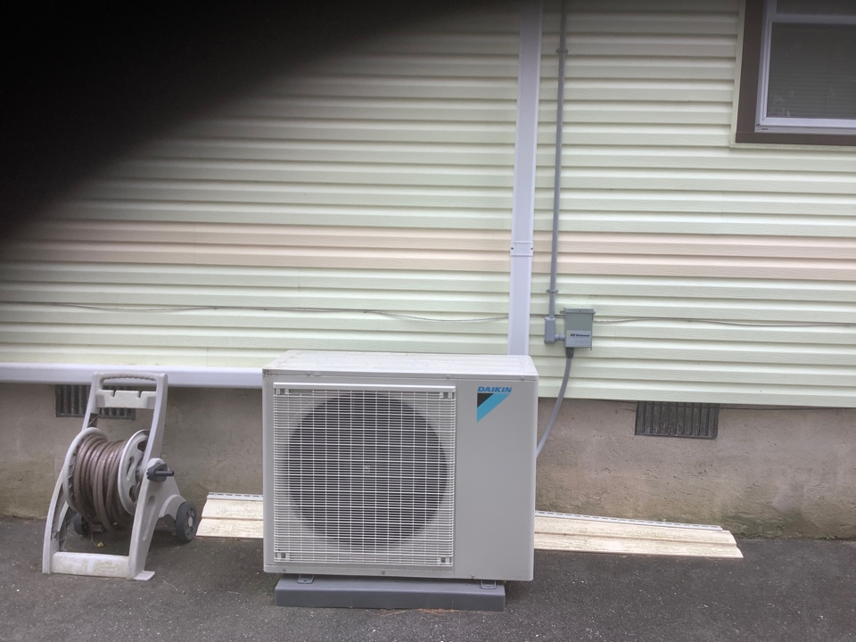 Islip Terrace, NY - Performed maintenance on one Daikin ductless system in Islip