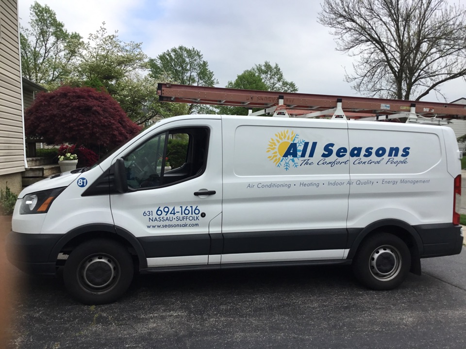 Plainview, NY - Perform the maintenance on a Amana split system in the town of Plainview