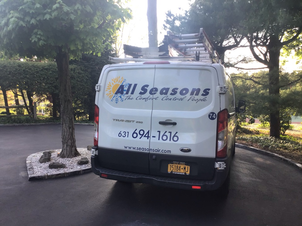 Melville, NY - Air conditioning inspection