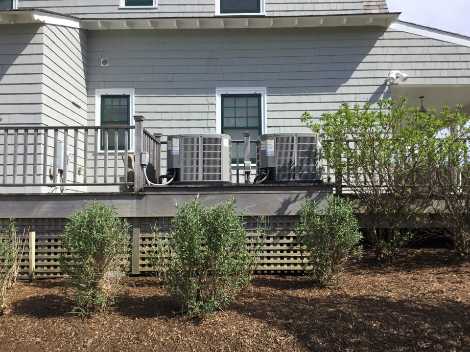 Westhampton Beach, NY - Performed a spring start up onto American standard split systems and one Mitsubishi ductless split system in the town of Westhampton