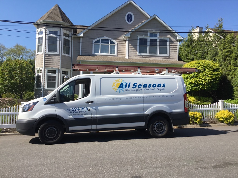 Glen Head, NY - Performed a AC inspection on three Gibson split systems in the town of Port Washington