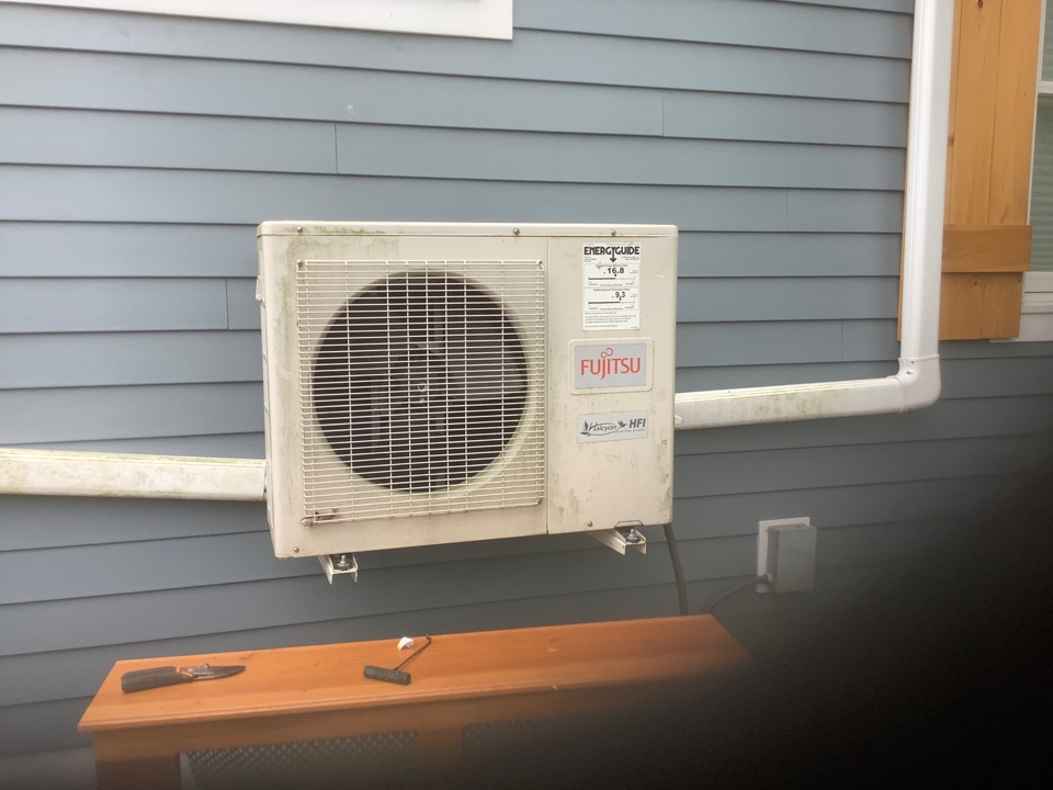 Bay Shore, NY - Replaced blown fuses on one Fujitsu condenser in Bay Shore