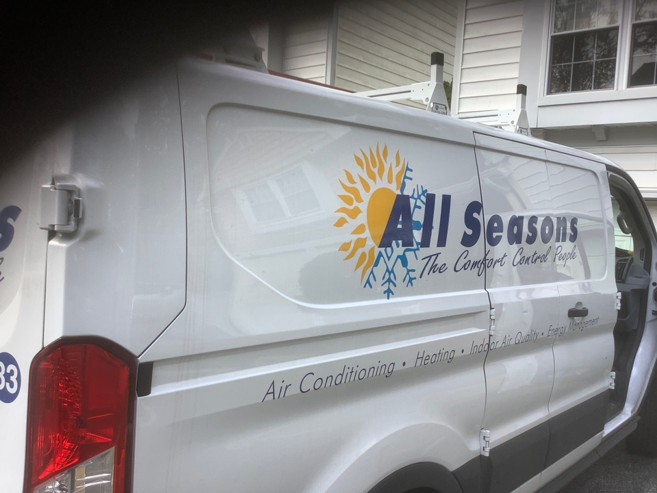 Syosset, NY - Performed maintenance on one carrier heat pump system in Syosset