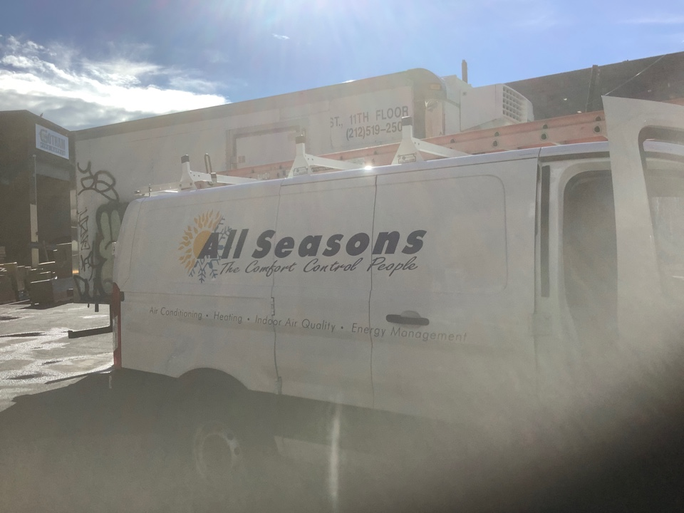 Queens, NY - Performed maintenance on one Trane commercial rooftop unit in Flushing