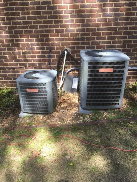 Helena, AL - Upon inspection we noticed the condensate pump was badly clogged and the duct work was in need of being cleaned.  Thank you for calling Brown Heating and Cooling for your air conditioning and heating need.