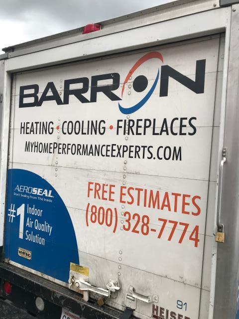 Point Roberts, WA - Sold a Quadra-Fire 210 Millennium wood stove to Mr. Loveday at the Ferndale, WA Barron Showroom.