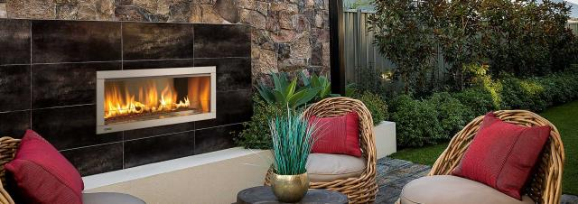 Anacortes, WA - Sold a Regency Outdoor HZ042-NG Gas Fireplace to a Construction Company out of the Burlington, WA Showroom.