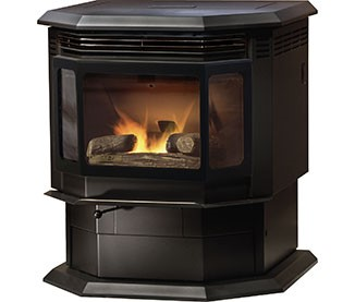 Maple Falls, WA - Sold a Quadra-Fire Classic Bay 1200M-MBK Pellet Stove to a Company out of the Ferndale, WA Showroom.