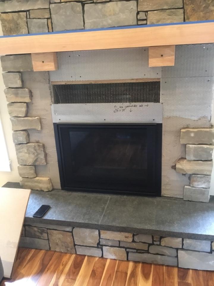 Bellingham, WA - Fireplace install in Bellingham, WA.