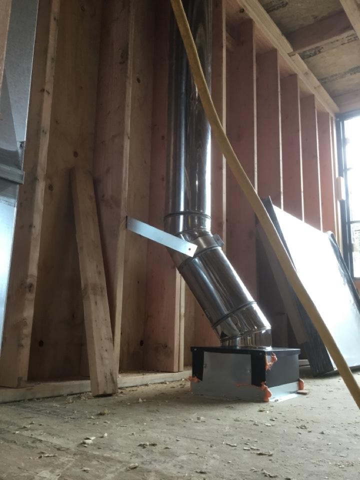 Burlington, WA - Wood stove install in Burlington, WA.