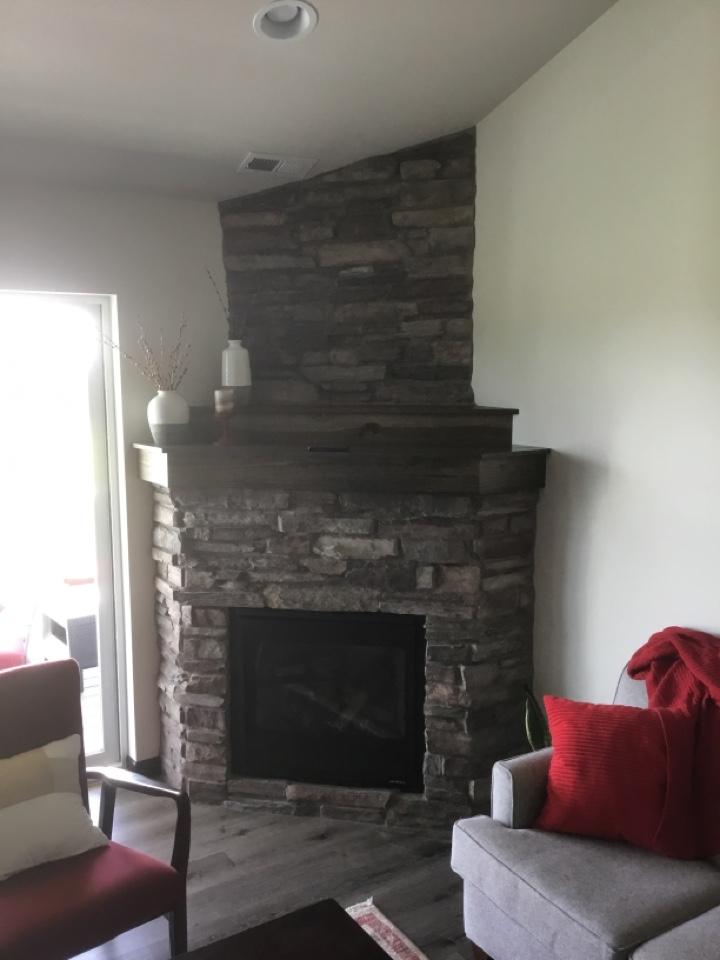 Bellingham, WA - Gas fireplace install in Bellingham, WA.
