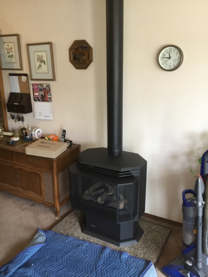 Anacortes, WA - Performing a gas stove installation for a family in Oak Harbor, WA.