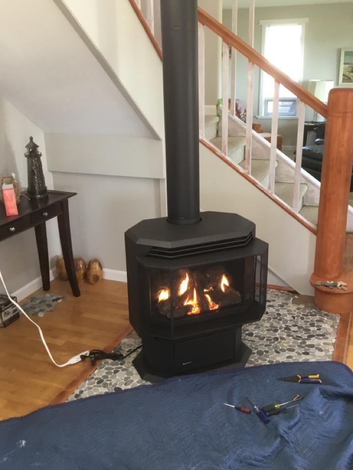 Anacortes, WA - Gas stove install