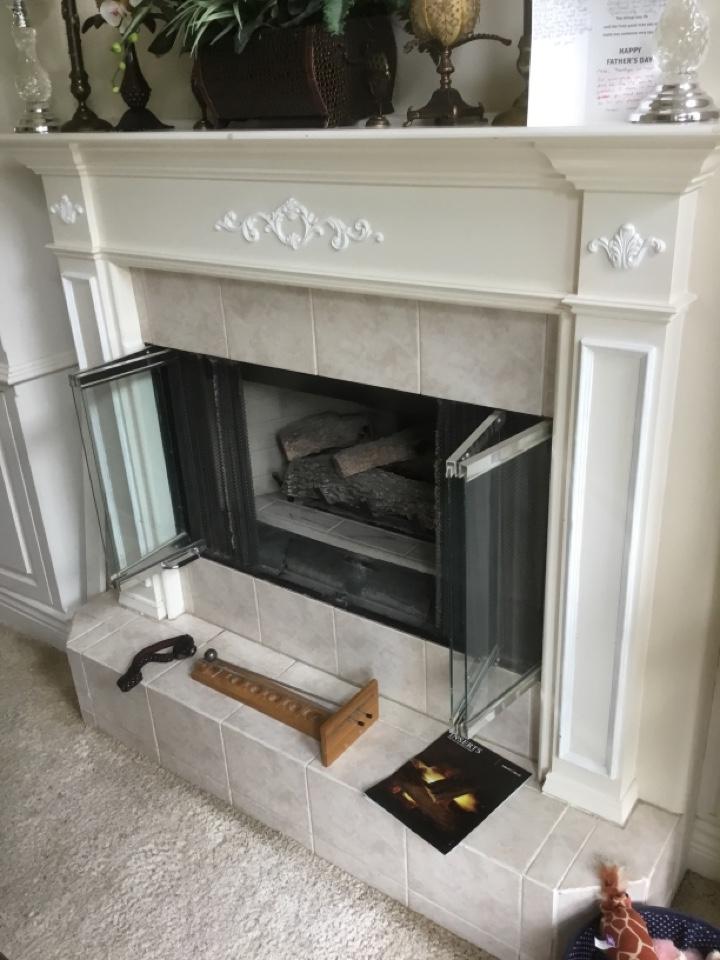 Ferndale, WA - Gas fireplace install