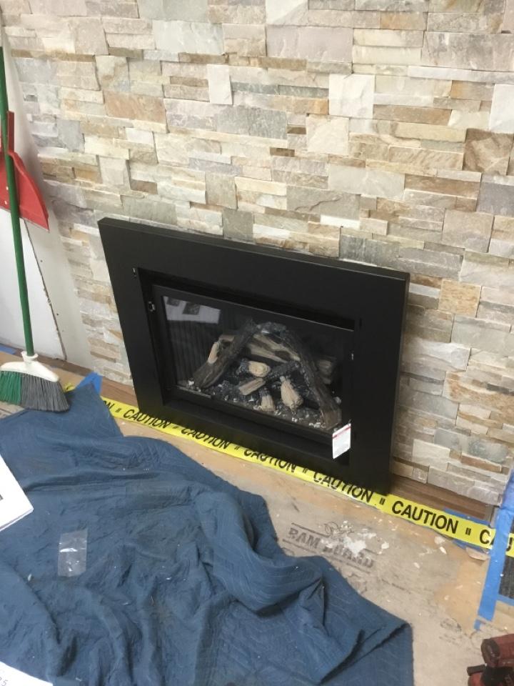 Anacortes, WA - Gas fireplace install