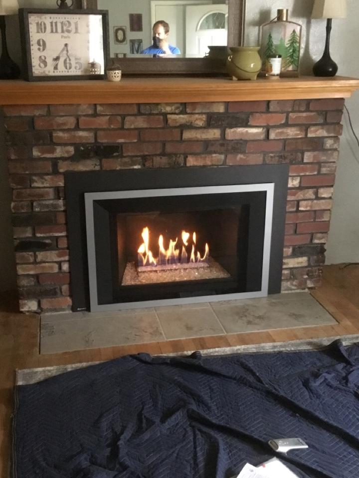 Burlington, WA - Gas insert install