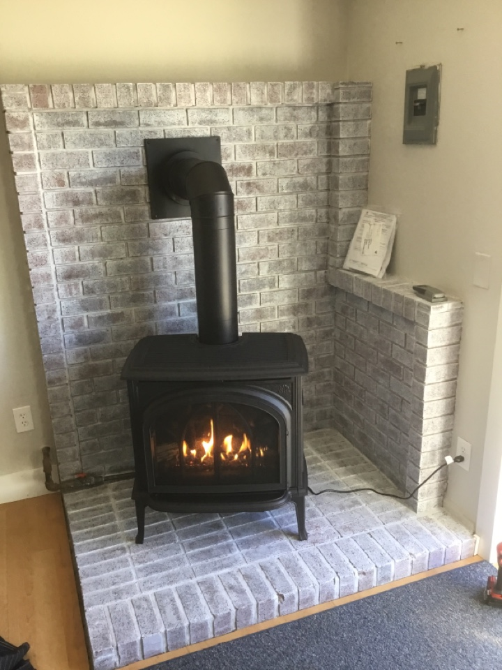 Eastsound, WA - Gas stove install
