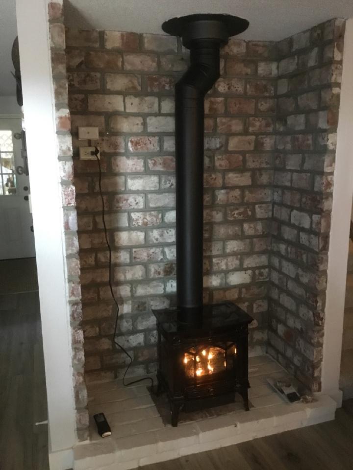 Blaine, WA - Gas stove install