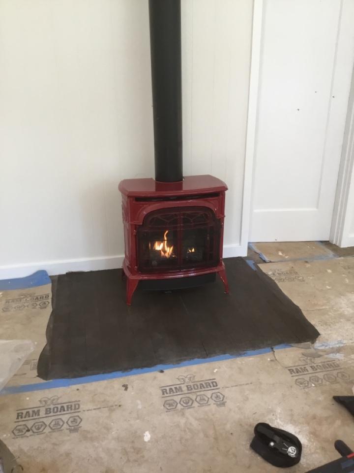 Burlington, WA - Gas stove install in Burlington, WA.