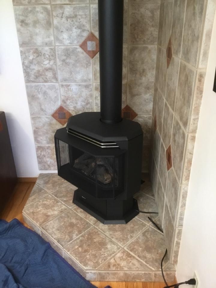 Burlington, WA - Gas stove installation in Burlington, WA.