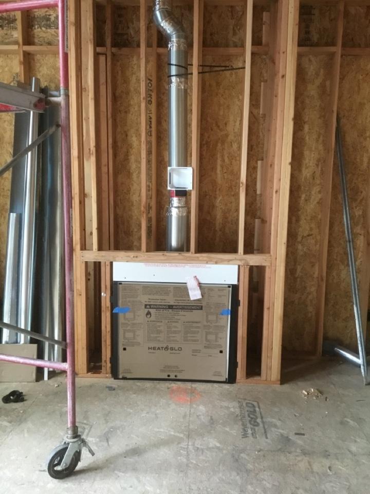 Burlington, WA - Gas zc install in Burlington, WA.