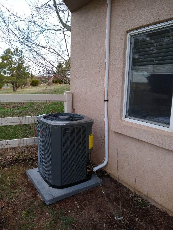 Colorado Springs, CO - Installation of new Trane Air conditioner and Evaporator Coil