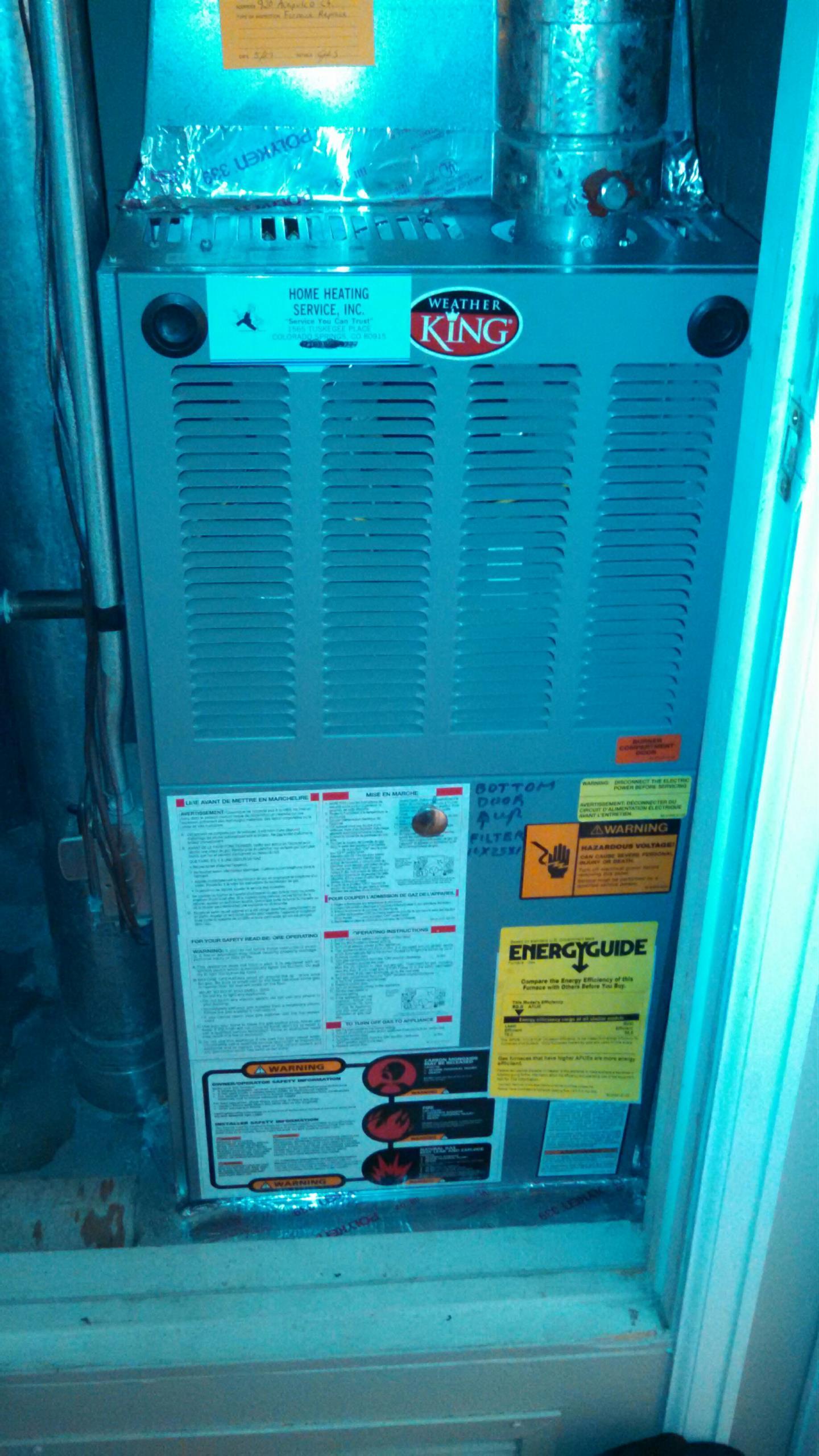 Furnace Repair and Air Conditioner Repair in Colorado Springs CO