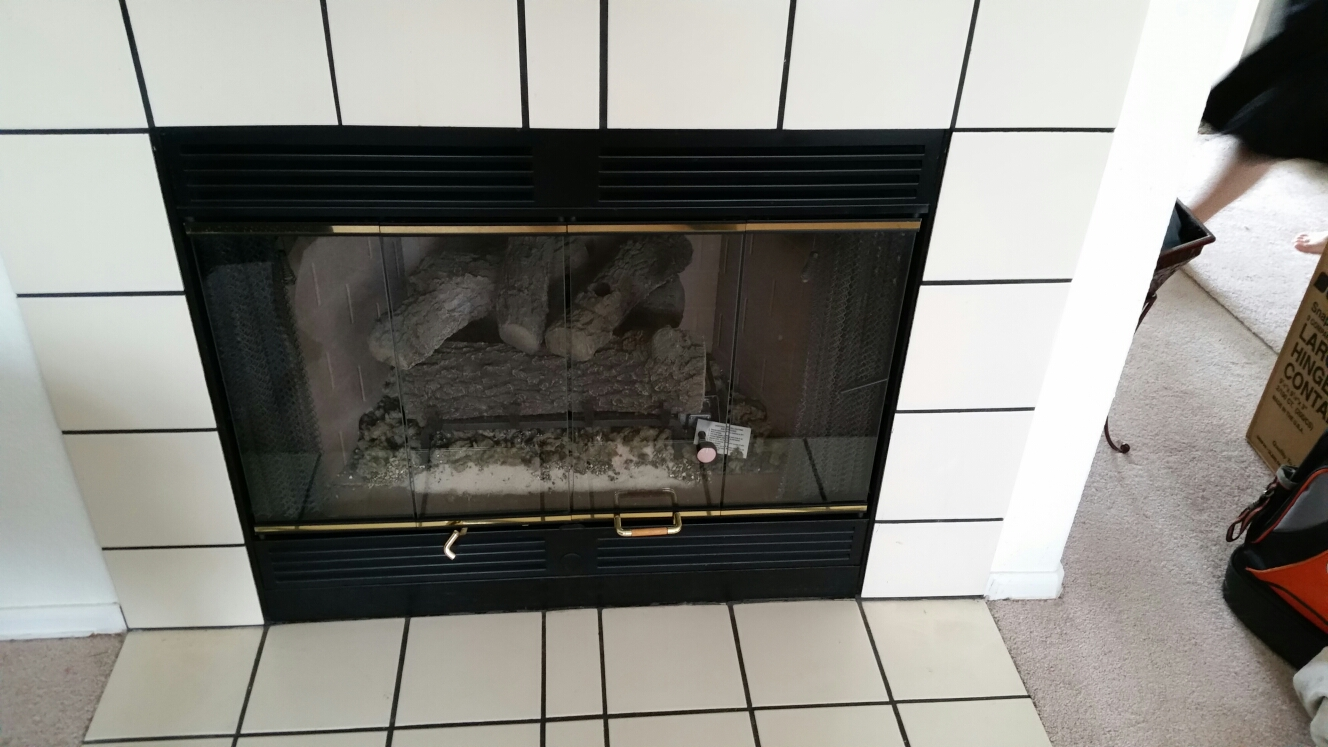 Colorado Springs, CO   Gas Fireplace Service Call. Performed Repair And  Clean On Marco