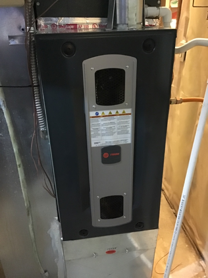 Monument, CO - Tune up on Trane furnace