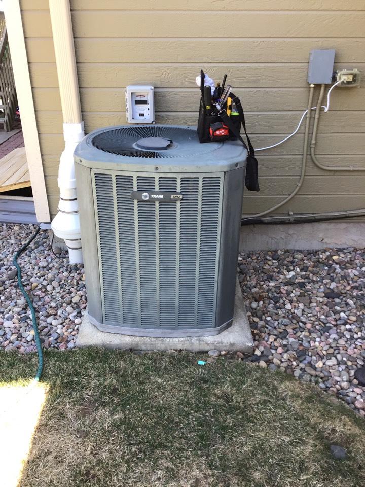 Colorado Springs, CO - Trane AC tune up