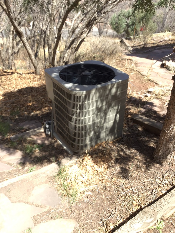 Colorado Springs, CO - Trane furnace and ac tune up with humidifier tune up and fireplace safety check