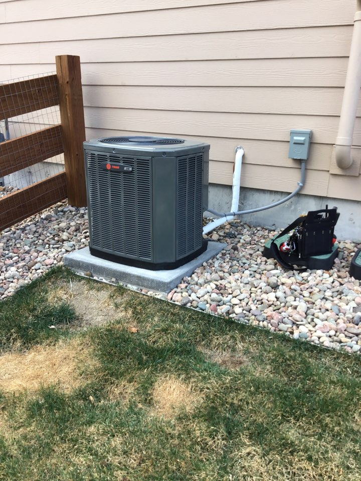Monument, CO - Trane AC tune up