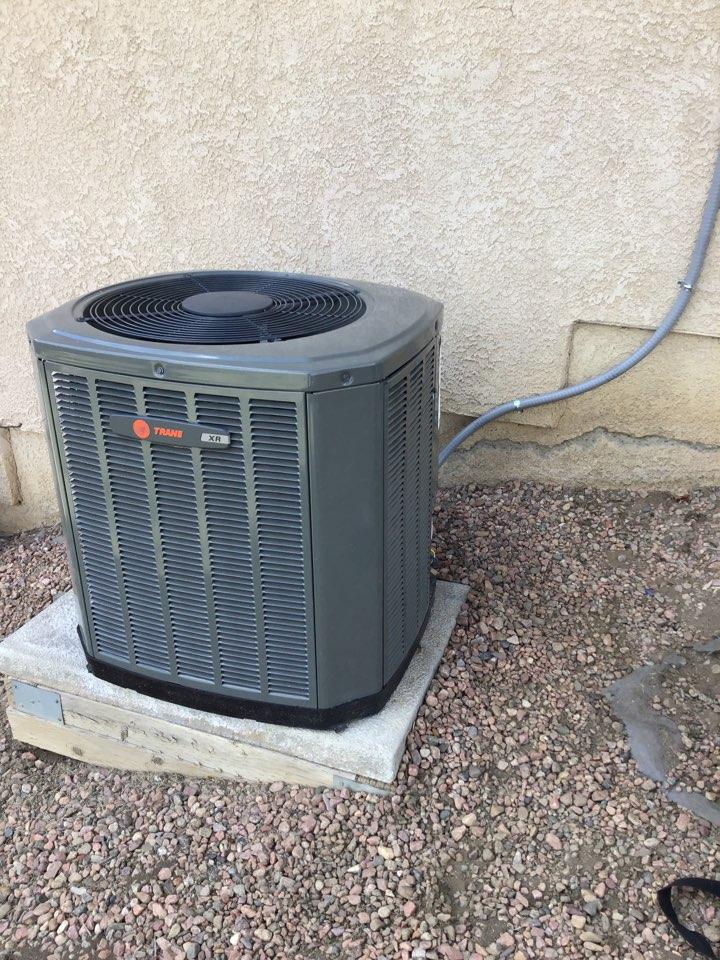 Colorado Springs, CO - Trane furnace tune up