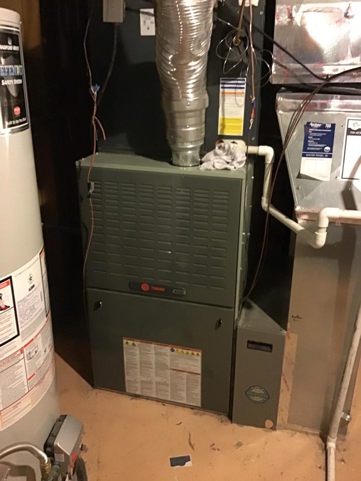 Colorado Springs, CO - Trane furnace and AC tune up