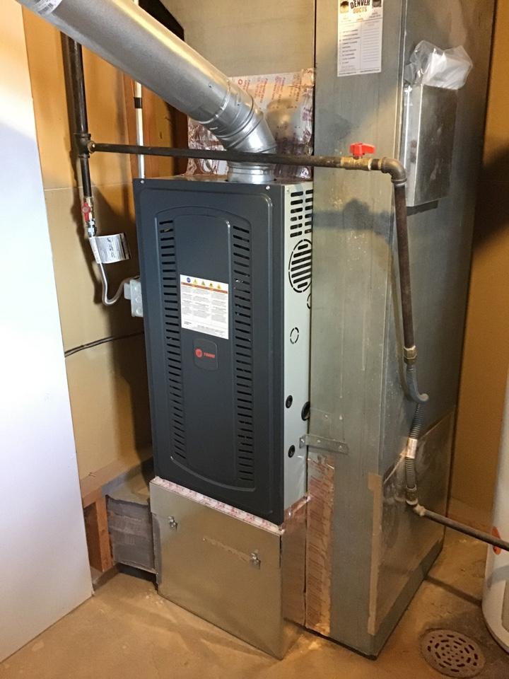 Colorado Springs, CO - Trane furnace tun up