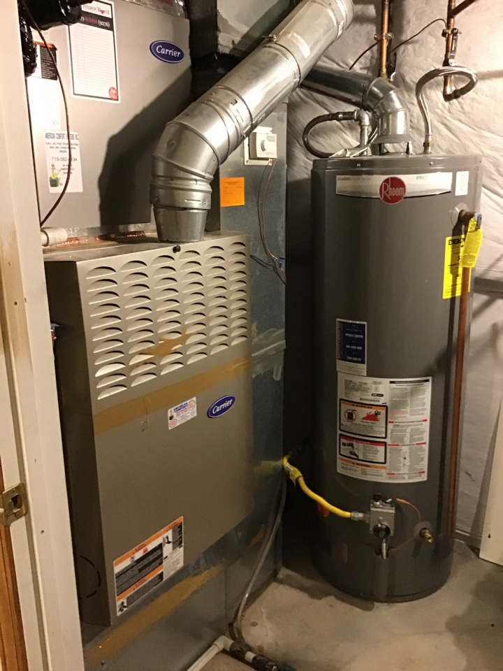 Colorado Springs, CO - Carrier furnace tune up