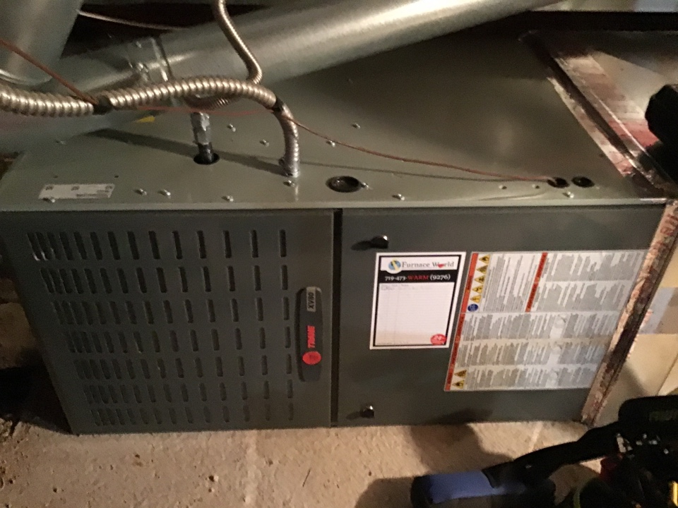 Monument, CO - Trane furnace tune up and safety inspection