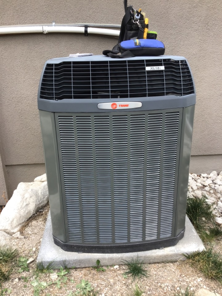 Monument, CO - Trane Ac tune up and safety inspection.