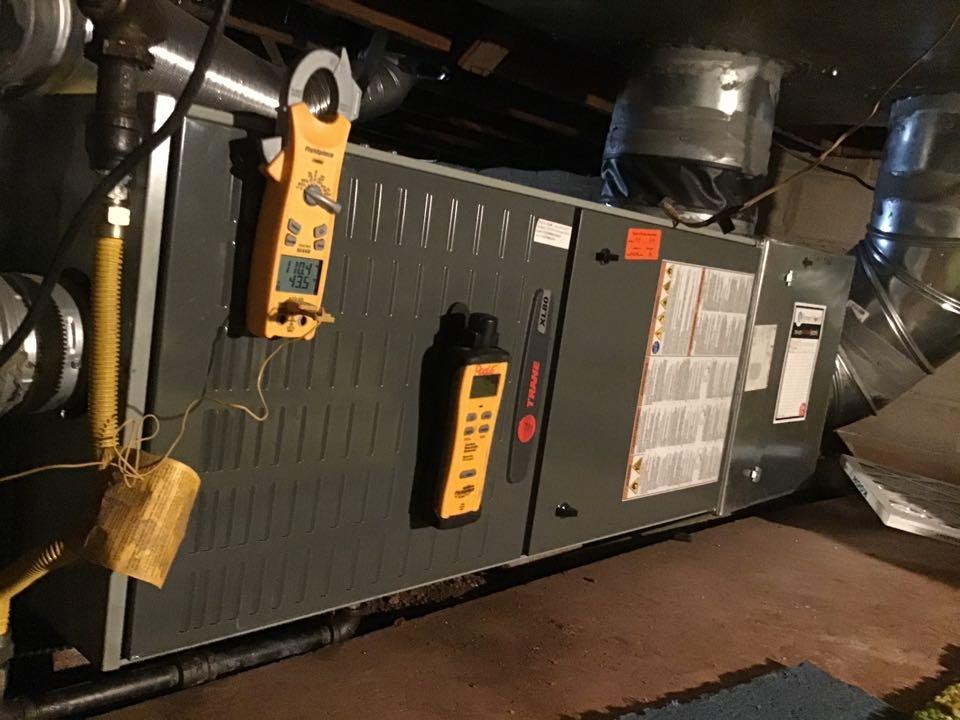 Manitou Springs, CO - Trane furnace inspection