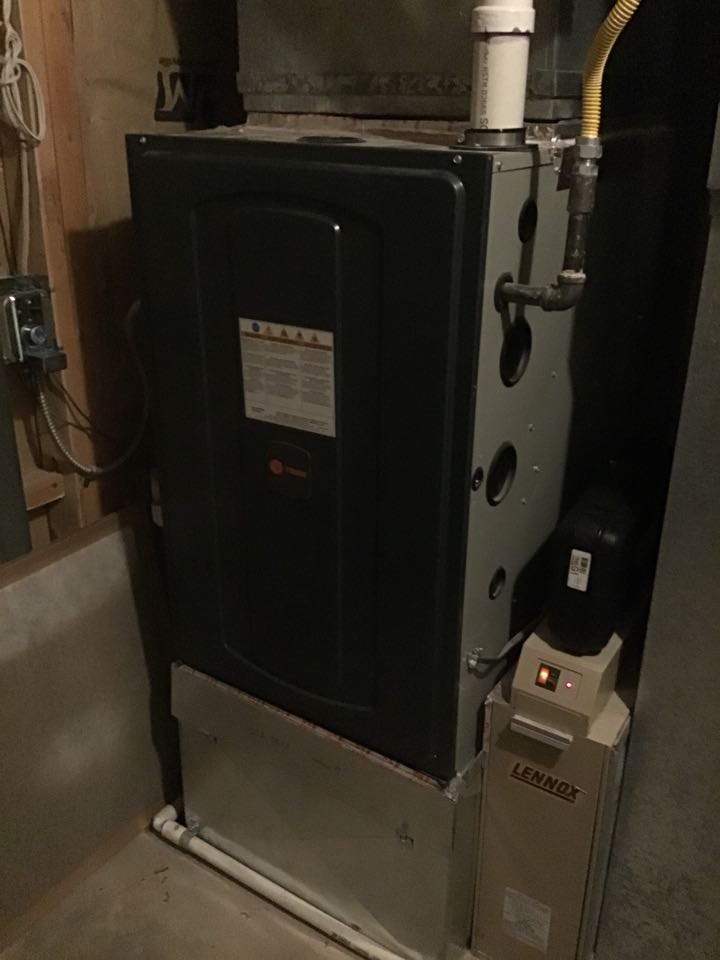Monument, CO - Trane furnace inspection