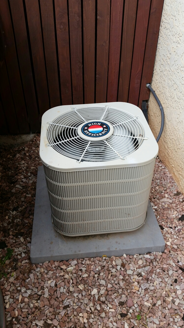 Manitou Springs, CO - No cooling, furnace and air conditioning maintenance service call. Performed repair and tune up on Tappan ac and furnace.