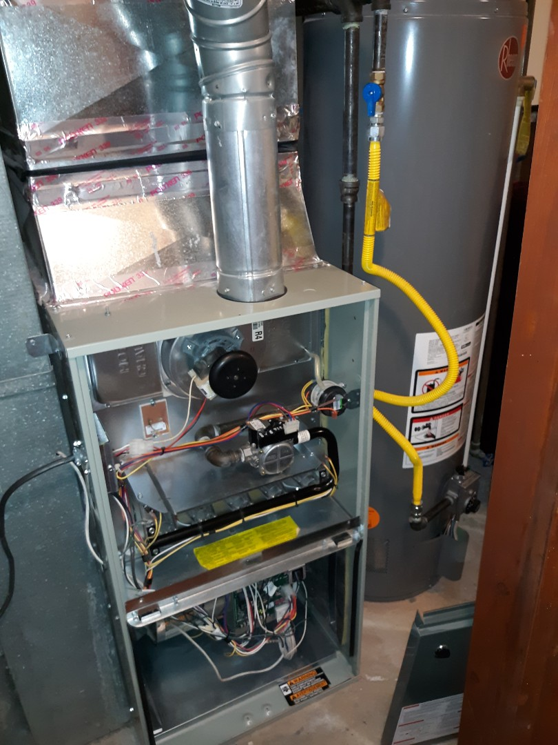 Colorado Springs, CO - Trane gas furnace tune up and safety inspection
