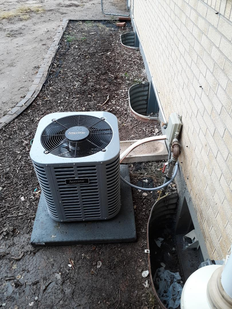 Colorado Springs, CO - Installed new ADP 410a evaporator coil.