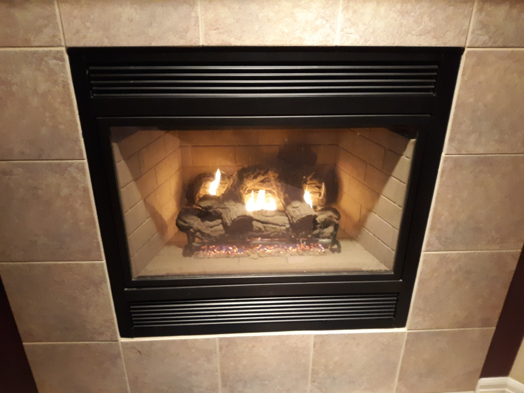 Colorado Springs, CO - Fireplace safety inspection on 2 Marco gas fireplaces