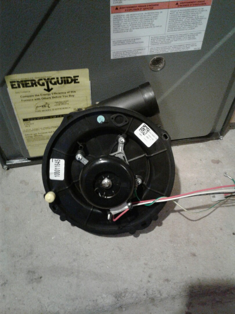 Fox Lake, IL - Replace inducer motor